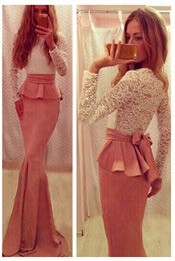Черная пленка bodycon платье цветочный марочных рукавов женщин летние платье 2015 одежда женщин vestidos де Феста lc2813