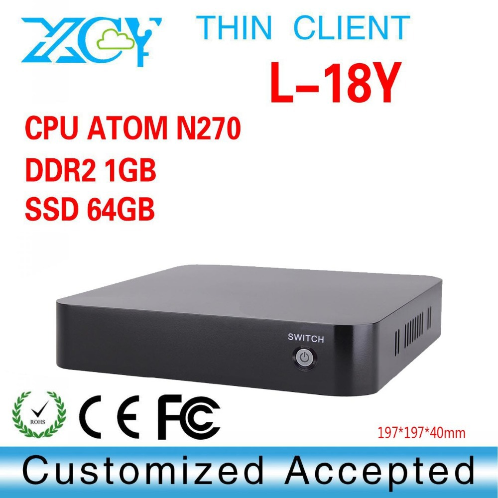 The Cheapest Cheap Mini PC Station N270 Thin Client Support Win 7 XP System Industrial Mini PC Super Mini Desktop PC-Station(China (Mainland))