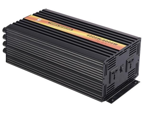 Factory Sell,4000W, 12/24VDC input,110/230VAC, pure sine wave inverter with Charger,Power inverterCE Approved !