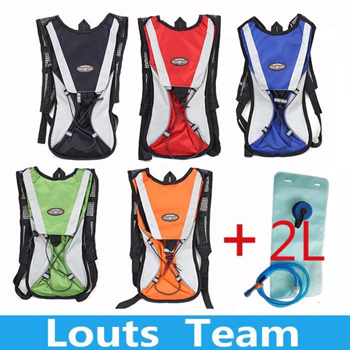 Free Shipping Hydration Pack Water Rucksack Backpack Cycling Bicycle Bike Outdoor Sport Bladder + 2L TPU Camping Hiking Bag(China (Mainland))
