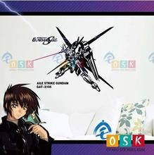 Japanese Cartoon Fans SEED AILESTRIKE GAT-X105 GUNDAM Vinyl Wall Stickers Decal Decor Home Decorative Decoration