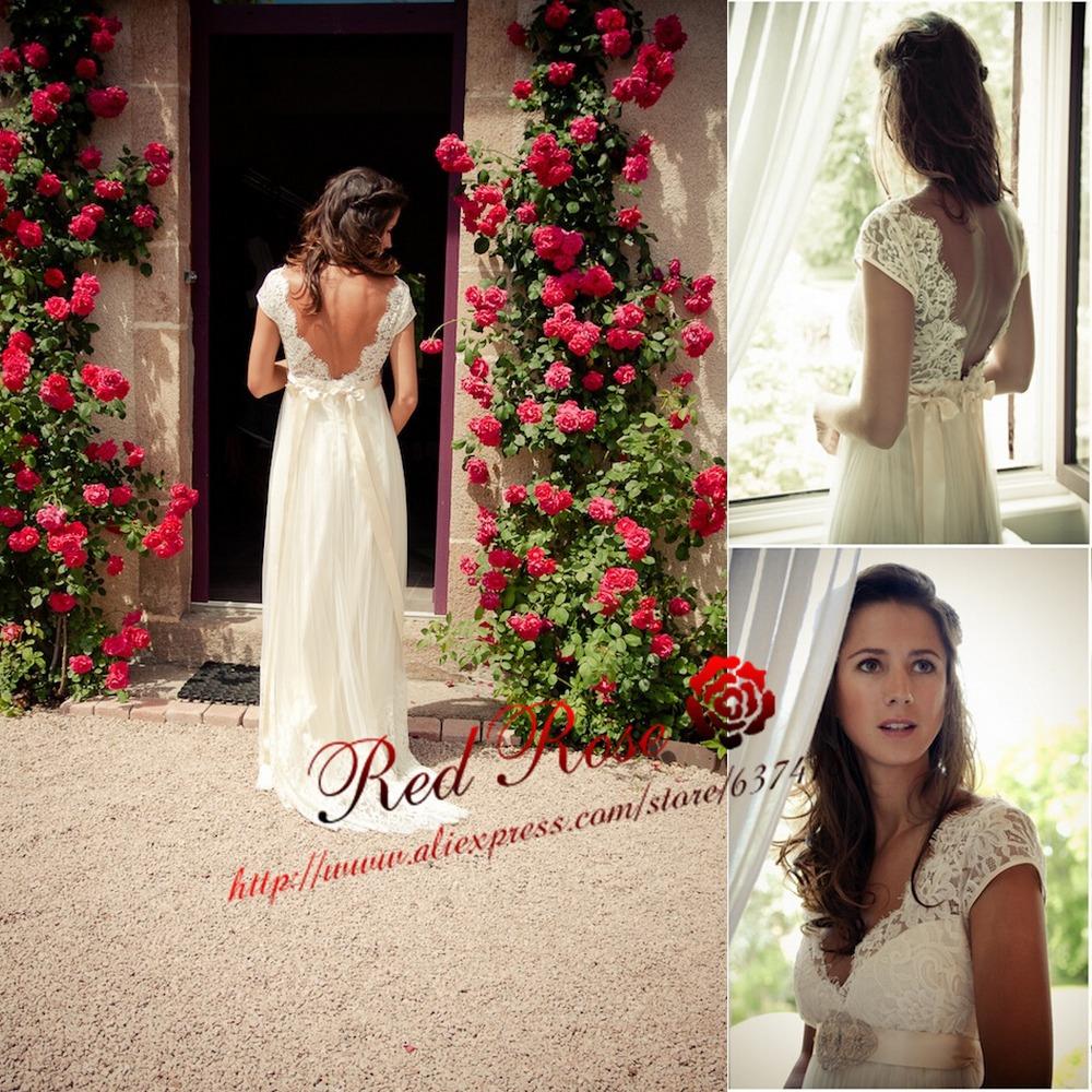 Transporting Wedding Dress For Destination Wedding : Chiffon and beach wedding dress vestidos de noiva