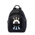 Edgy Cartoon Small Daypack 2016 New Fashion Backpack Women Korean Style Designer School Bag Ladies High