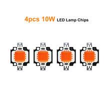 LED Wachsen Licht Chip Gesamte Spektrum Pflanze Lichter Quelle 1W 3W 10W 20 W/30 W 50W 100W Lampe Perlen Für Garten Blüte Hydrokultur JQ(China)