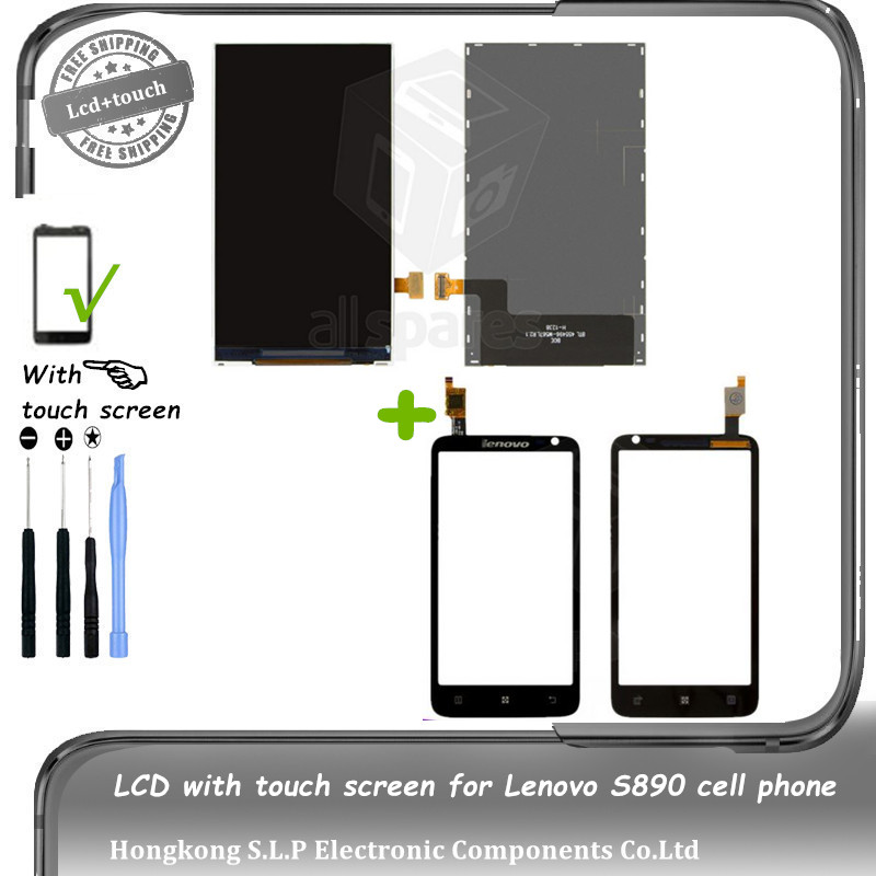 NEW touch panel Lenovo S890 touch screen digitizer replacement for Lenovo S890 phone free shipping + tracking code