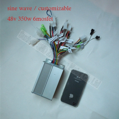 BLDC 48V 350W 6mosfet sine wave controller PAS/ brushless Lithium battery G-K106 - Suzhou SND Zhenlong Motor Co. Ltd store