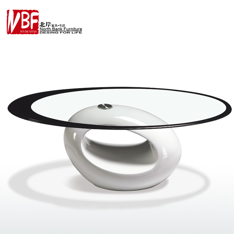 Room Coffee Table IKEA Simple And Stylish Glass Oval Coffee Table Side
