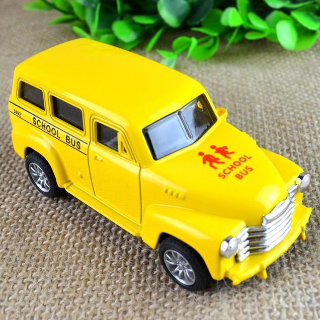 BOHS Genuine Metal Alloy School Bus Diecast Toys for Kids 10*4*4cm(China (Mainland))