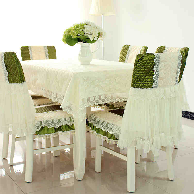 Garden Lace Tablecloth Green Table Runner Table Cloths Hotel Home Decoration Table Cover(China (Mainland))