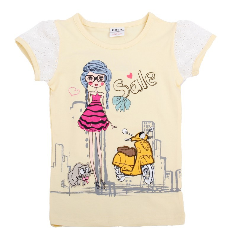 2 6t Apricot Yellow Pink T Shirts For Girls Girl T Shirt