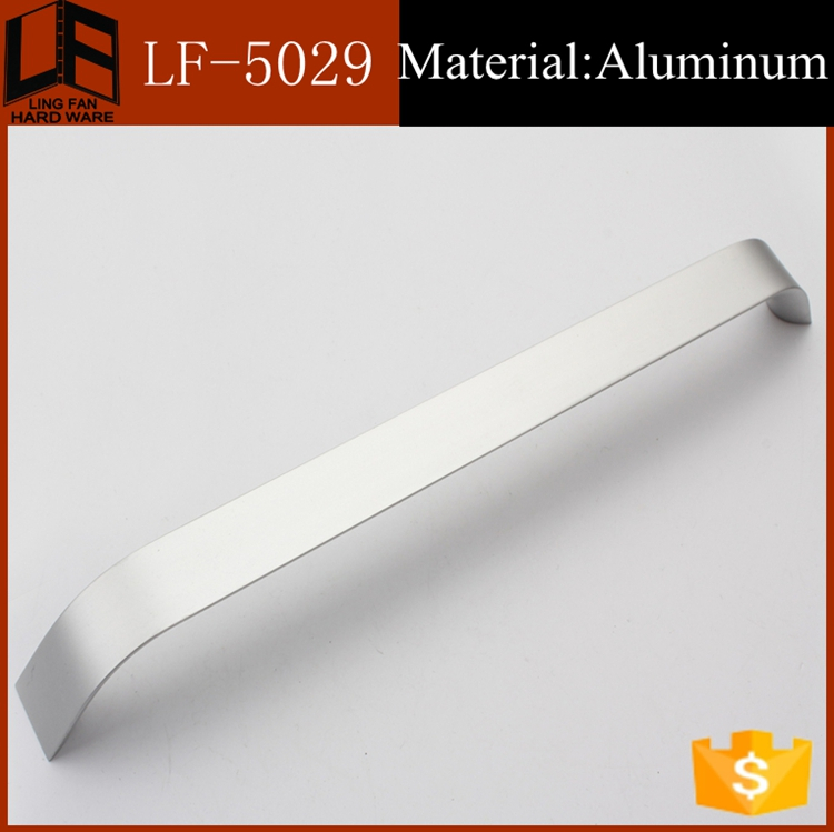 bedroom furniture brushed aluminum cabinet handles,handles / knobs by space aluminum(China (Mainland))