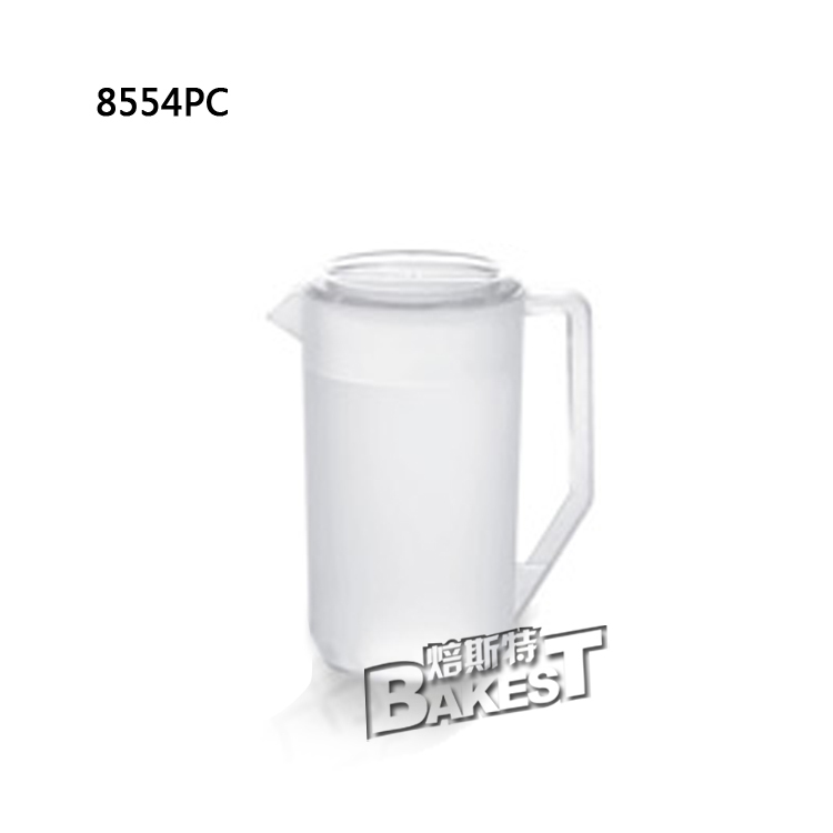 Bakest best seller fast delivery polycarbonate PC material Crystal clear shatterproof storage container Kettle #JB8554PC(China (Mainland))