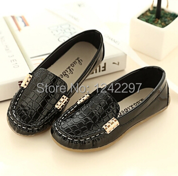 New Arrivals Fashion Children's Flats Girls Boys Loafers Moccasins Kids Boat shoes 0.3/2(China (Mainland))