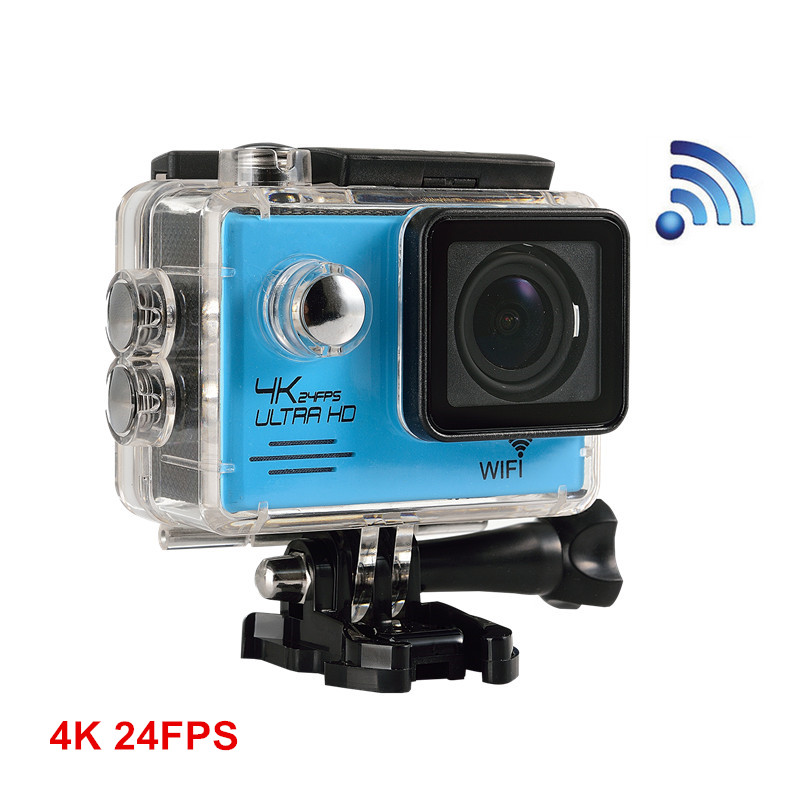 4K 24fps camera 16MP SJ7000+ WiFi Sports Action Video Camera DV Helmet Cam 2.0 inch Waterproof Action helmet Camera