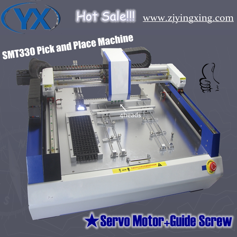 Low Wear Excellent Craftsmanship 4 Heads Precise Used SMT Machine SMT330 With Servo Motor Made In China(China (Mainland))