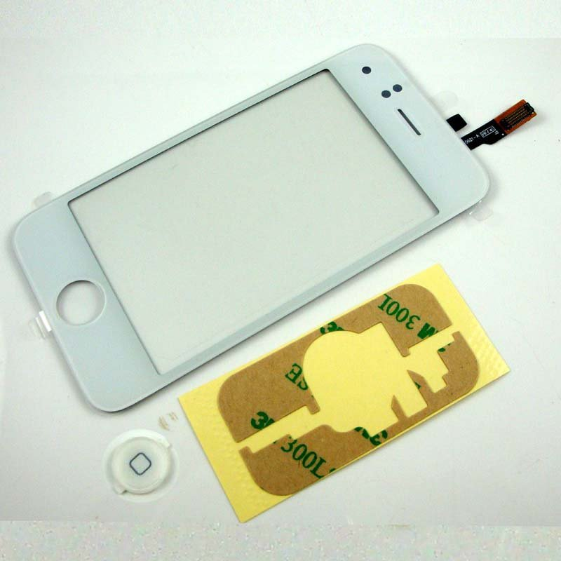 LCD Digitizer Touch Screen Glass For iPhone 3G Free Shipping With Tracking Number(78236)(China (Mainland))