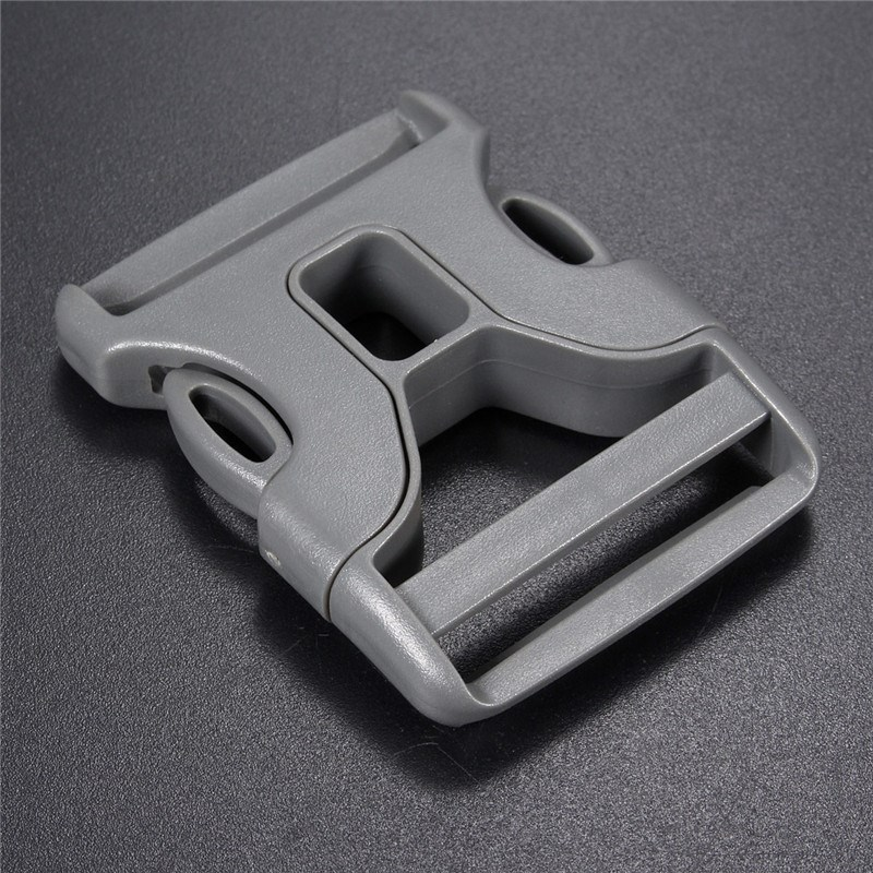 Fashion 10pcs/set Bag Buckle Curved Side Release Plastic Buckles Grey Color Bags Parts Accessories Hight Quality Wholesale(China (Mainland))