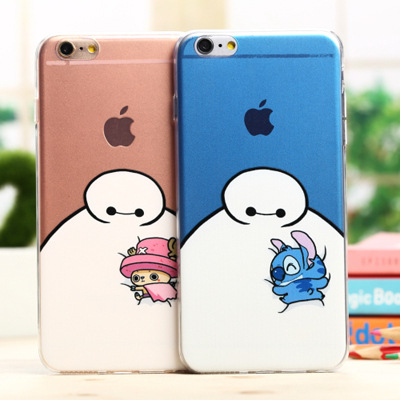 The new beast corps big white Small cartoon pictures soft cover Mobile phone case For iphone 5 5s and for iphone 6 6s plus case(China (Mainland))
