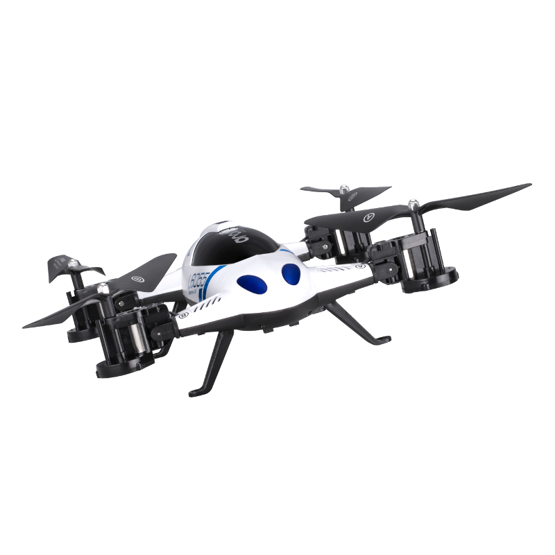 Original Lishitoys L6055 2.4G 4CH 6-Axis Gyro RC Quadcopter Air-Gronud Flying Car with 3D Flips CF Mode Function<br><br>Aliexpress