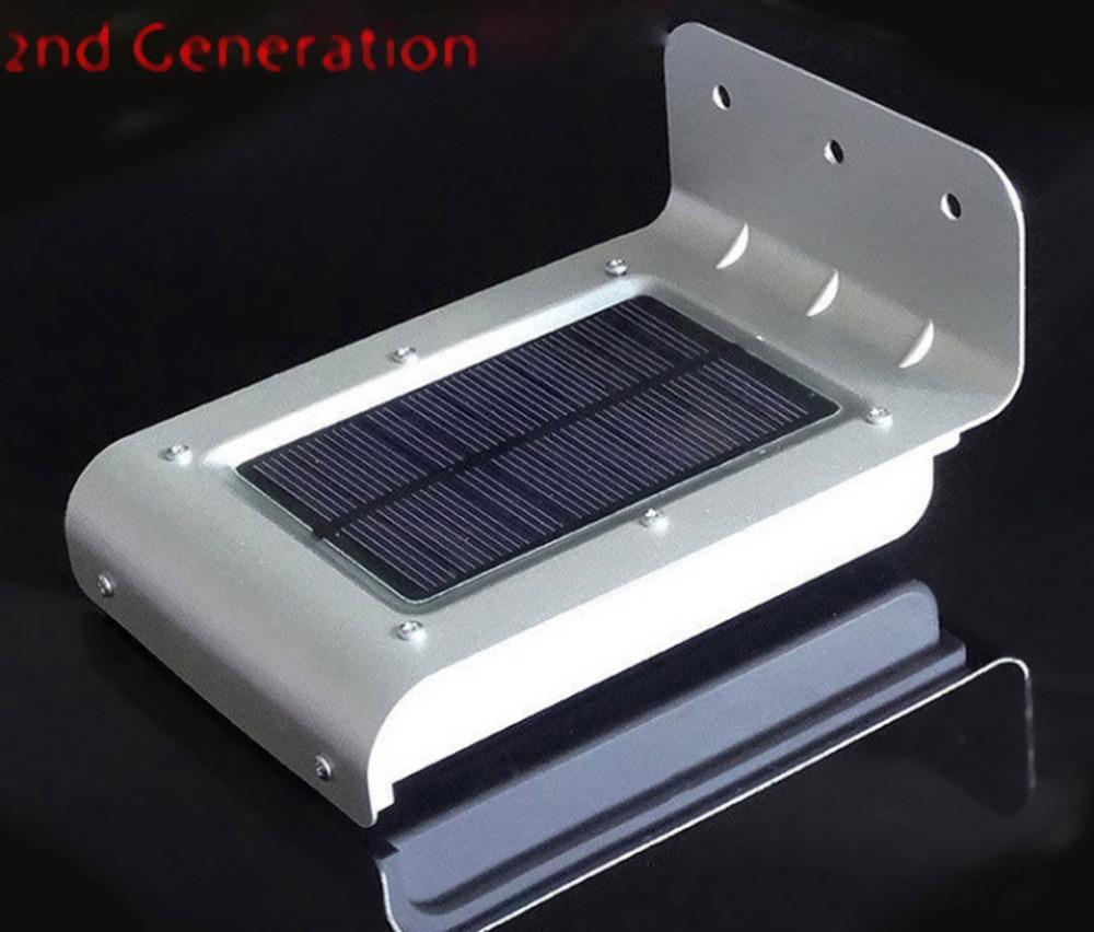Led Outdoor Light Solar: 16 LED Solar Power Motion Sensor Solar Garden Light Lamp