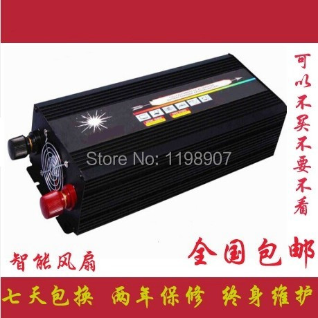 DC48V, 1500W Off-Grid Pure Sine Wave Power Inverter, Solar Inverter, AC100V/110V/115V/120V, AC200V/220V/230V/240V