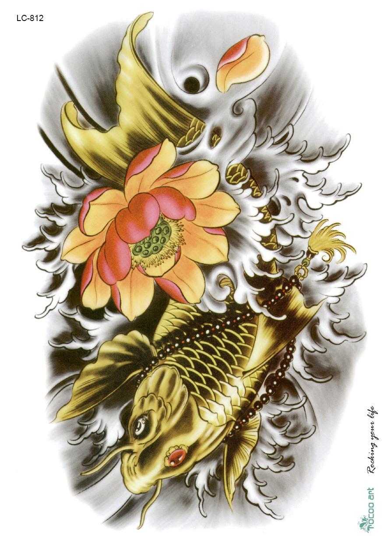 Achetez en gros dessins de fleurs de lotus en ligne des for Grossiste carpe koi