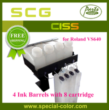 Free Shipping Roland VS640 CISS Continuous Ink font b Supply b font System 4 8