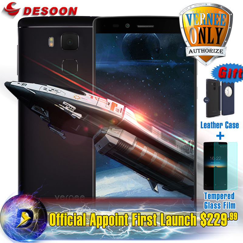 """Gifts Pack Vernee Apollo Lite MTK6797 Deca Core Mobile Phone 2.3GHz 4GB RAM 32GB ROM 16MP 4G LTE 5.5"""" FHD Android 6.0(China (Mainland))"""