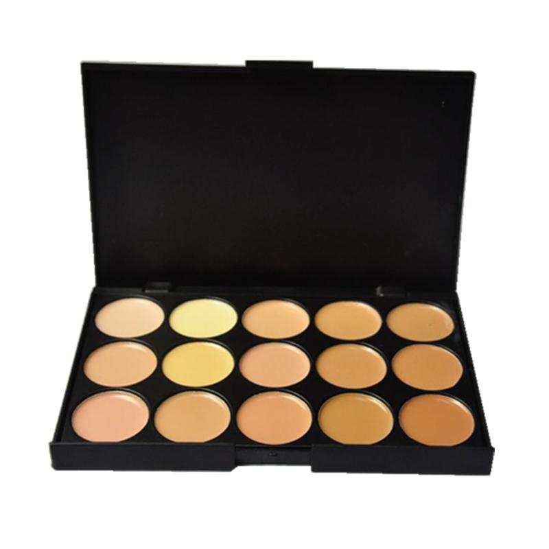 Professional Concealer Palette 15 Color Concealer Facial Face Cream Care Camouflage Makeup Base