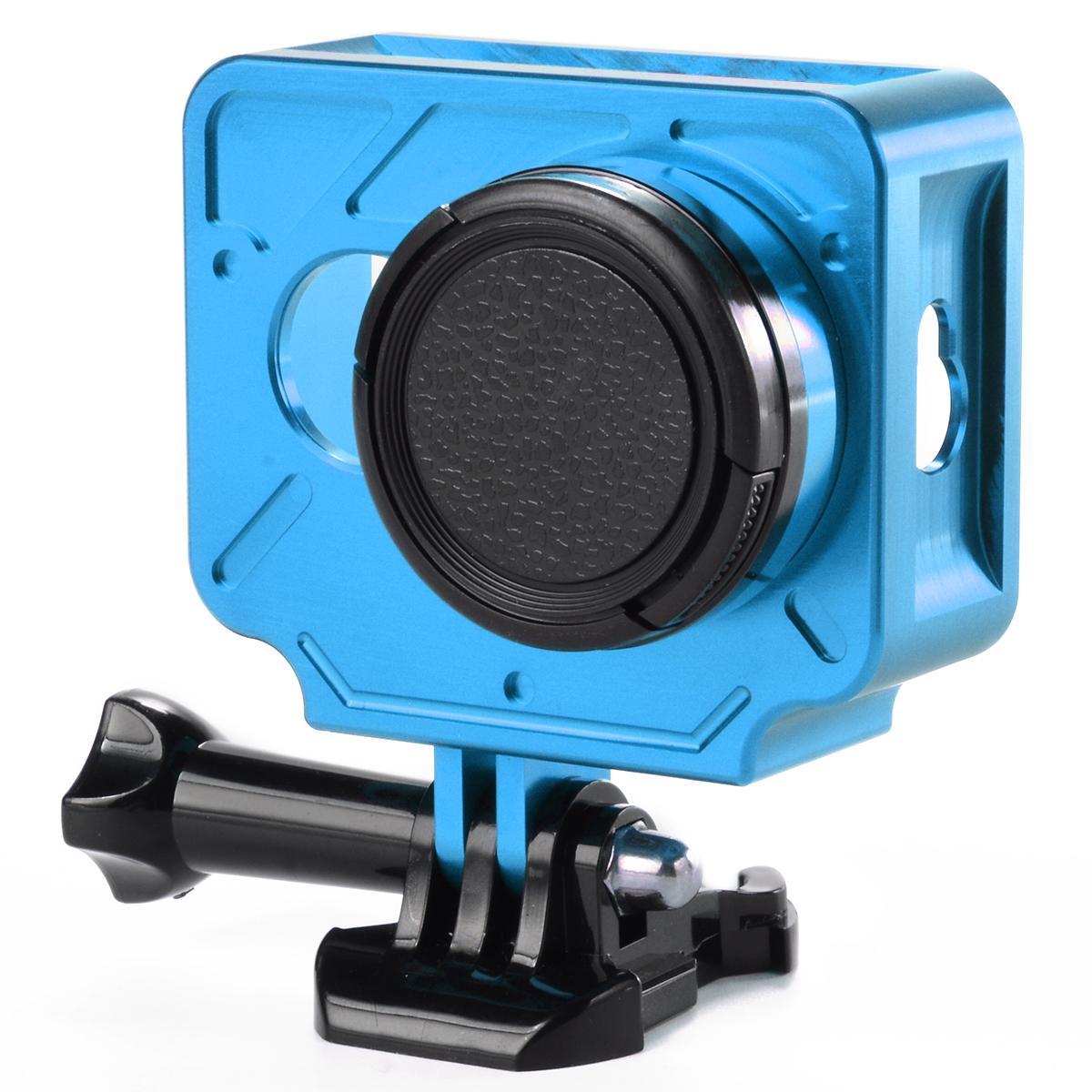 Aluminium Protective Case Shell + 37mm UV Filter FOR Xiaomi Xiaoyi yi Camera OS428-OS430(China (Mainland))
