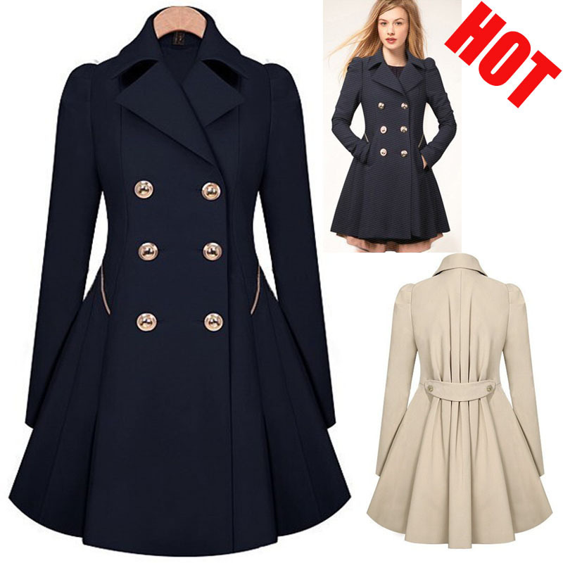 Ladies Long Dress Coats | Fashion Women's Coat 2017