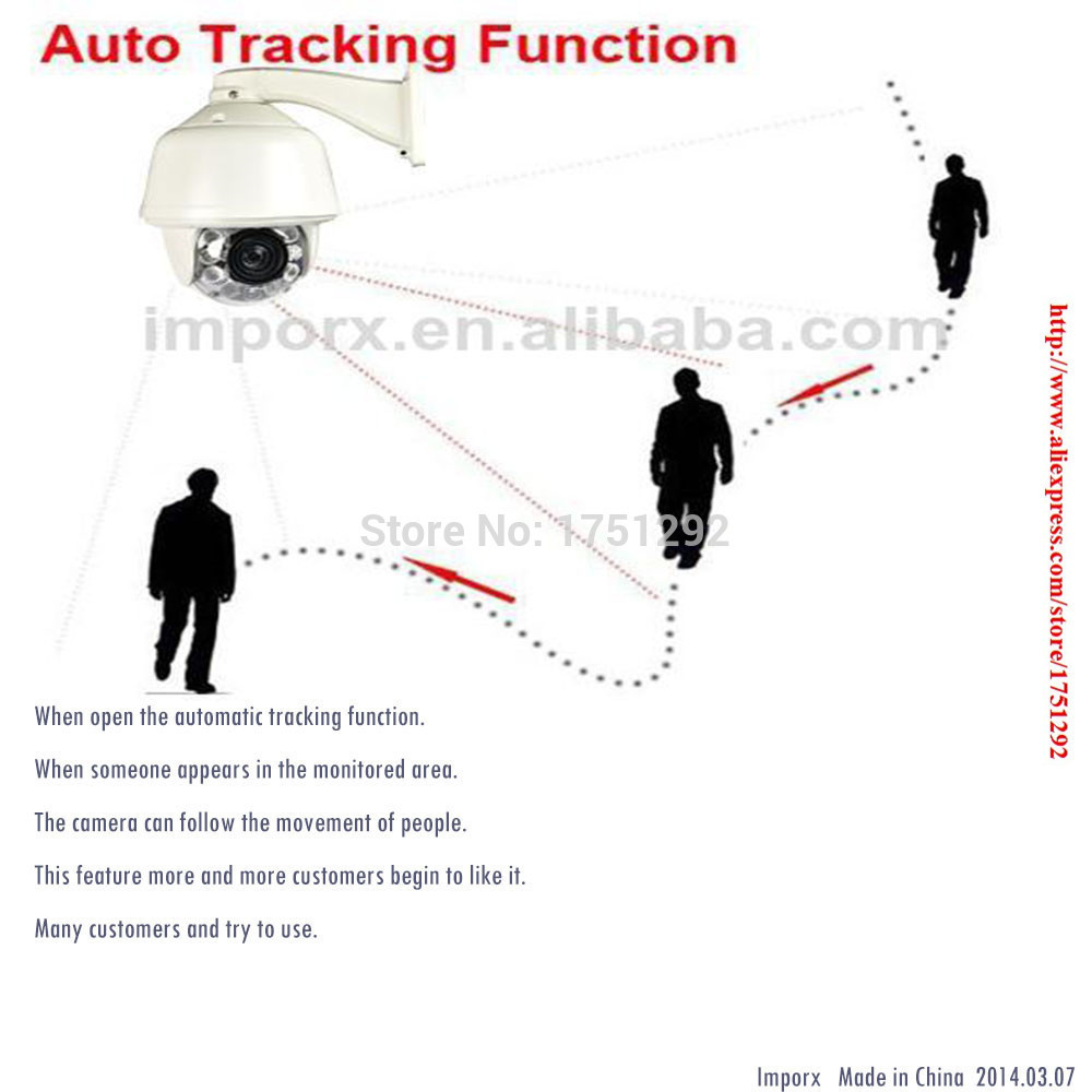 HIKVISION 30X Zoom HD 1080P Auto Tracking PTZ IP Camera