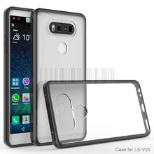 Buy New Arrival Hybrid Hard TPU Acrylic Back Cover Protective Bumper Antiknock Transparent Crystal Clear Phone Case LG V20 @ for $2.38 in AliExpress store