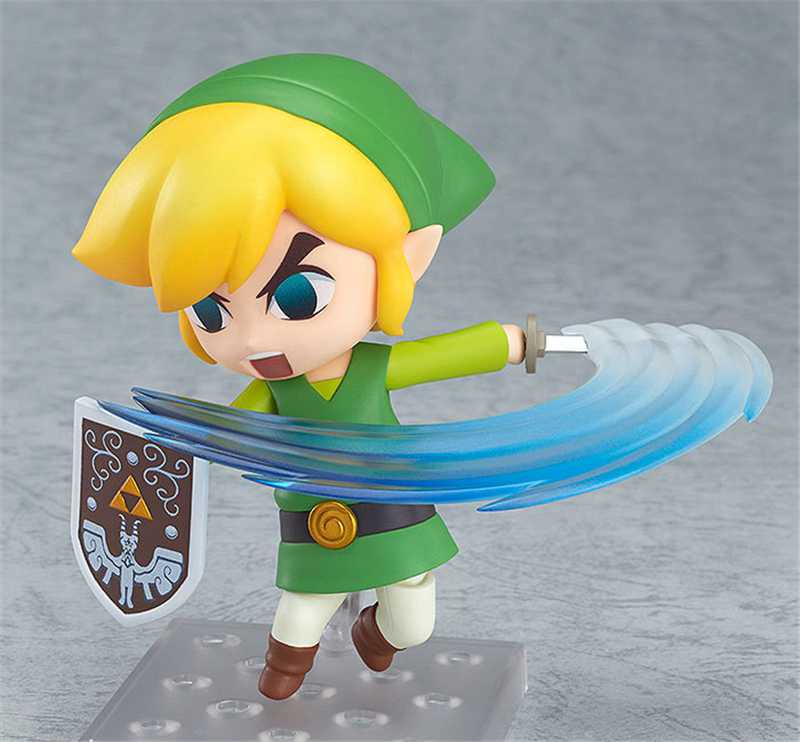 Nendoroid Game Anime The Legend of Zelda Link the Wind Waker Zelda Q.ver PVC Action Figure Model Collection Toys Doll Brinquedo(China (Mainland))