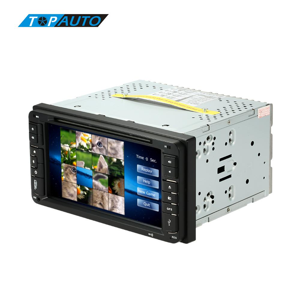 2 Din Car DVD Player In Dash PC Stereo Head 1080P Unit GPS Navigation+Bluetooth+Radio+Multimedia System for Toyota Universal(China (Mainland))