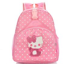 High quality children small school bags child girl backpack cartoon hellokitty infant school bags for kindergarten kids(China (Mainland))