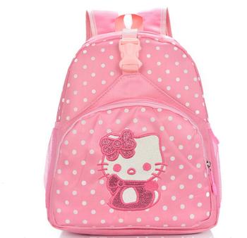 High quality children small school bags child girl backpack cartoon hellokitty infant school bags for kindergarten kids
