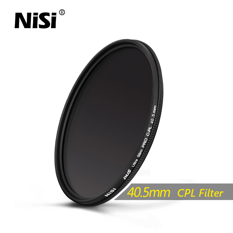 NiSi 40.5mm CPL Dus Slim Professional Ultra Thin C-PL Filter Polarizer Filter 40.5mm Circular Polarizer Filter Free Shipping<br><br>Aliexpress