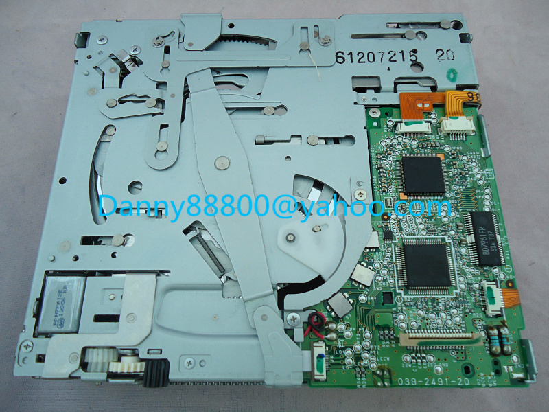 Free Express New Clarion 6 CD changer mechanism 039-2491-20 for FO RD PICKUP Ranger car radio tuner BuickLaCrosse Park Avenue(China (Mainland))