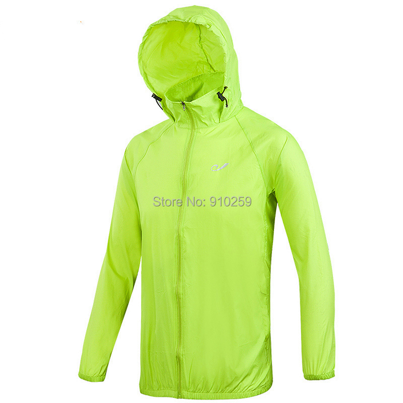 Spring-Summer brand outdoor thin windbreaker women's windproof climbing jackets female style trench coat for men sportswear(China (Mainland))