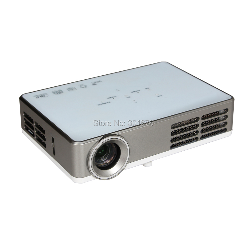 Buy mini projector dlp wifi android smart for Best android mini projector