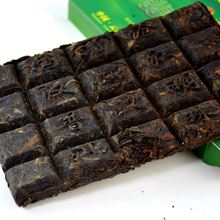 Special 2 Kinds of Puer Tea Shu Shen Tea Brick Yunnan Aged Puerh with Raw Ripe