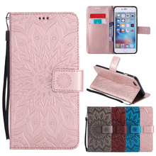 Buy Flip Leather Case sFor Fundas Apple iphone SE 5 5s 6/6s 7 plus Coque Mandala Flower Wallet Cover Stand Phone Cases for $3.69 in AliExpress store