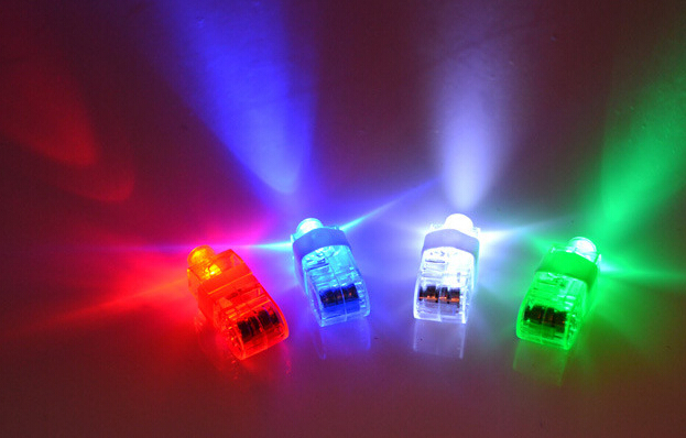 Qin Di party Finger light rings light-up toy luminous led toys frozen decoration lights ring multicolor 5pcs/lot(China (Mainland))