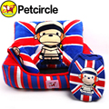 petcircle new arrival 2015 hot dog bed kennel dog clothes and dog blanket set monkey striped