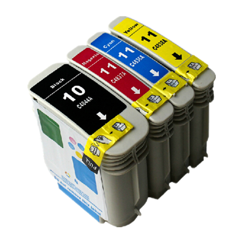 2set cartridge For 10 11 for HP 1000series 2000series k850 2250 2500 2300 2600 2800 1300 850 9100 C4836A C4837A C4838A C4840A(China (Mainland))