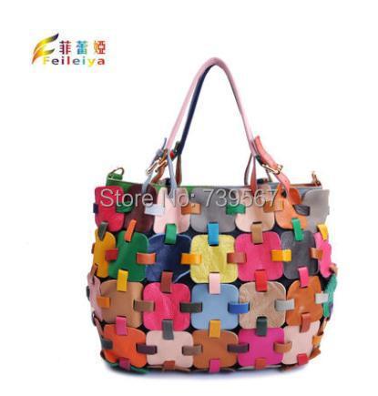 Цветная сумка своими руками