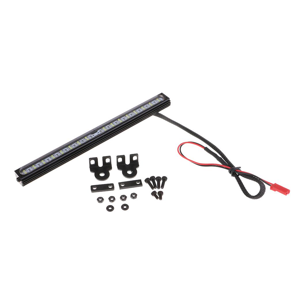 RC Roof LED Light Bar Lamp 32 LED Light Bar Strip for 1:8 1:10 RC Rock Crawler Truck TRX4 90046