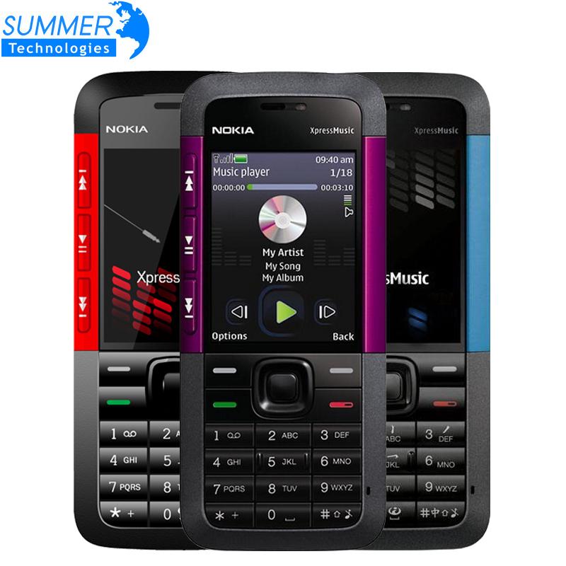 Unlocked Original Nokia 5310 Xpress Music camera Cell phones Cheap Phone refurbished GSM Bluetooth GPRS Mobile Phones(China (Mainland))