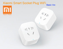 In Stock Original Xiaomi Smart Socket Plug Bacic WiFi Wireless Remote Accept EU US AU Socket Adaptor(China (Mainland))